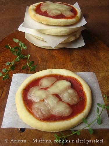 Pizzette al philadelphia
