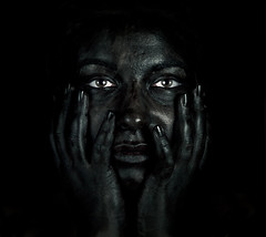 Black Litcha! (Thomas Cristofoletti's stock photography) Tags: madrid olympus e30 strobes 1260 licia paintedface myfavoritephoto olympuse30 expomario expomariodef