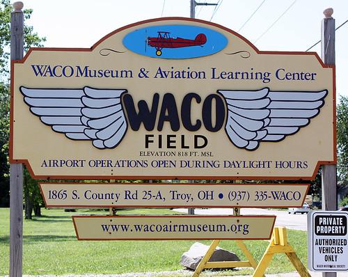 Waco sign