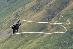 USAF F15 Strike Eagle LN AF91 0313 (Peter J Bailey - Saxon Studio) Tags: usaf ln f15 lowlevel af91 usaff15strikeeaglelnaf910313bwlchmacloop af910313 srikeeagle