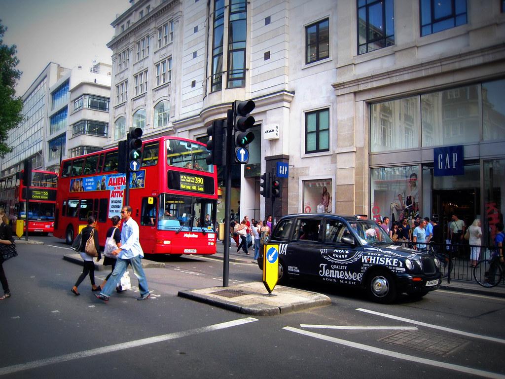 On Oxford Street
