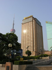 SH-2007-Pics-2542 (Tai Pan of HK) Tags: china shanghai financialdistrict  pudong opt orientalpearltower lujiazui pudongnewarea proc  shnghish pdngxnq ljizu lusmouth