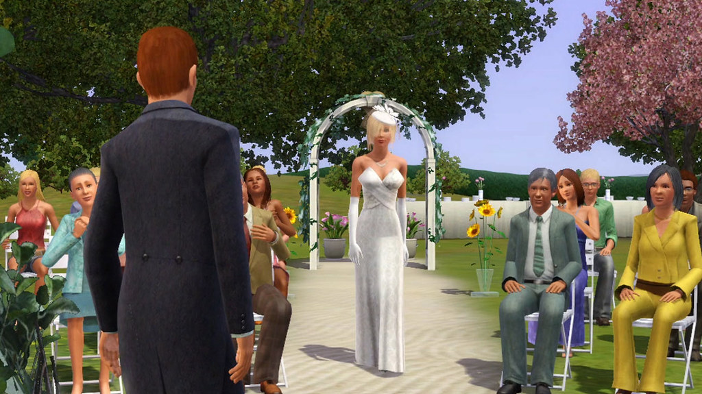 Sims 3 Generations Wedding