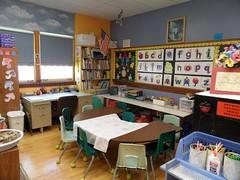 Lower grades classroom