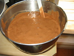 Chocolate genoise mix ready