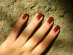 Boca de Sino (lupy_monteiro) Tags: sol impala terra marrom brilho unha coleção elementos esmaltes bocadesino
