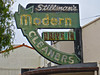 Stillman's Modern Cleaners, Lompoc, CA (Robby Virus) Tags: california sign modern neon cleaners drivein laundry arrow lompoc stillmans