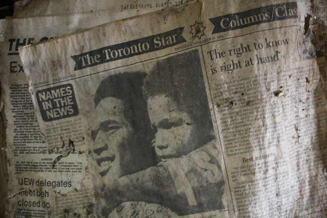 Toronto Star, Thursday, November 18th, 1976