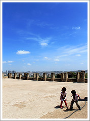 Play Time (Midhun Manmadhan) Tags: blue sky kids canon children playtime 18mm 1100d