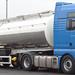 no name MAN TGX 18.440 4x2 unit tri axle tanker (NL) BV RJ 45  hamilton service station 16 feb 09