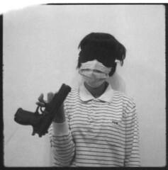 polaroid 667 7-1 () Tags: film hasselblad human 2009 expiredfilm 500cm polaroid667 carlzeissplanar80mmf28   borrowfromangex