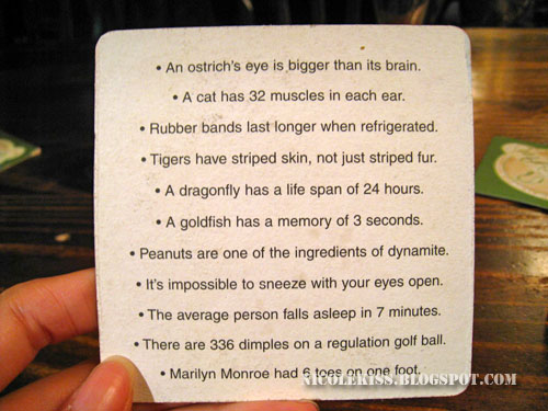 coaster fun facts