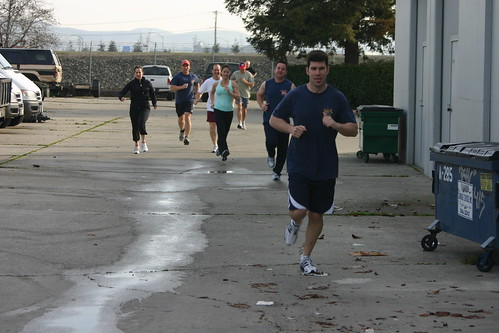 Crossfit Pleasanton Group Run
