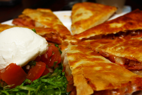 Smoked Ham Quesadillas