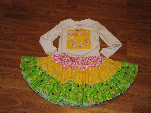Girl Bug twirl set