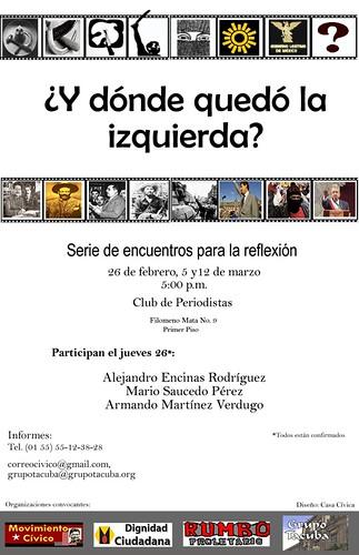 Cartel Foro Izquierda_jueves26