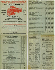 Ouerbacker Coffee Company Catalog (deatonstreet) Tags: old coffee vintage rice antique kentucky ephemera company spices louisville catalog teas 1918 mailorder bulk ouerbacker