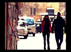 ritagli di vita ~ life cutting (Ev@ ;-)) Tags: life street light people italy rome wall colours bokeh explore cutting dailylife sidebyside clipping fiat500 asundayinthecity unadomenicaincitta ritaglidivita~lifecutting loveisallaround