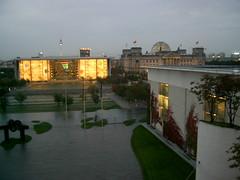 Aussicht vom Balkon vom Kanzleramt (gurkiix3) Tags: berlin kanzleramt