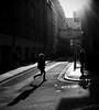 Late, always late. (Ian Brumpton) Tags: street uk shadow england blackandwhite bw sunlight london blancoynegro sunshine silhouette blackwhite candid citylife streetphotography highcontrast rangefinder running explore londres coventgarden late contrejour runninglate sidewalkstories explored blackwhitephotos enretard londonstreetphotography platinumphoto infinestyle lifeinslowmotion littlestoriespicswithsoul scattidistrada ianbrumpton aimlessstrolling blackwhiteheartbeats londonatlarge