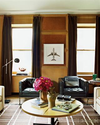 Nate Berkus's library, featured in Elle Decor,house, interior, interior design