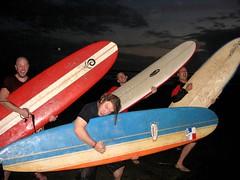 Guitar Surfboards! (luke_trautwein) Tags: surfing panama santacatalina