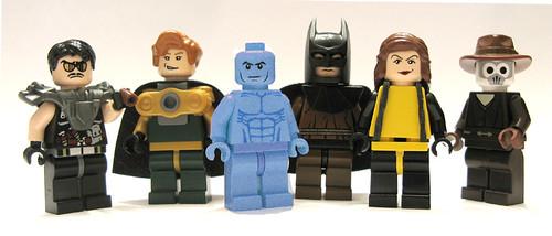 Watchmen en Lego