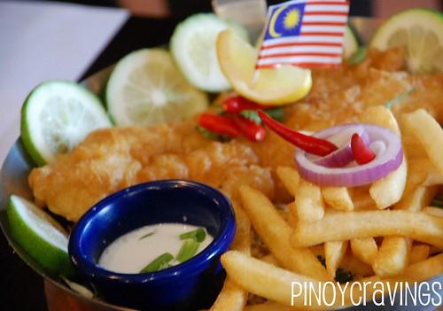Malay Ko - Fish and Chips