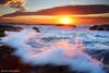 Mona Vale Sunrise (-yury-) Tags: ocean morning sea cloud sun seascape beach water sunrise landscape sydney wave australia nsw monavale австралия abigfave ultimateshot сидней