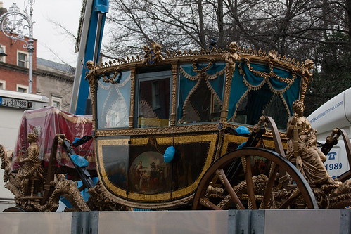The Lord Mayor's Coach was built in 1789 by William Whitton