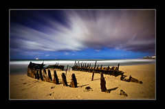 High Clouds (Matthew Stewart | Photographer) Tags: moon beach clouds shadows matthew ss australia brisbane full mel josh stewart qld queensland kane rise wreck dicky vosplusbellesphotos nickbrisbane landscapesonline2