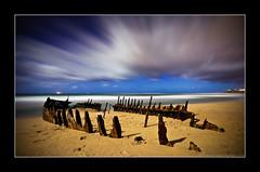 High Clouds (Matthew Stewart | Photographer) Tags: moon beach clouds shadows matthew ss australia brisbane full mel josh stewart qld queensland kane rise wreck dicky vosplusbellesphotos nickbrisbane landscapesonline2
