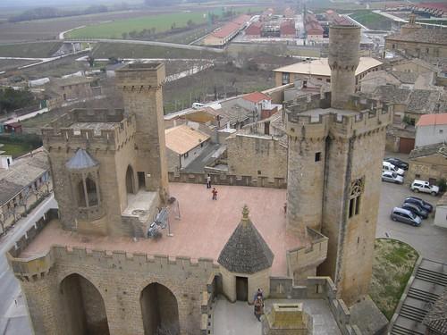 Castillo Olite fuera 3