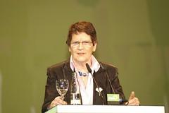Rita Süßmuth (CDU) als Gastrednerin bei den Gr...