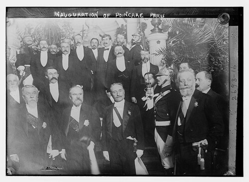 Inauguration of Poincare, Paris (LOC)