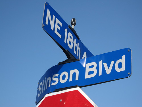 Stinson Blvd & NE 18th Ave
