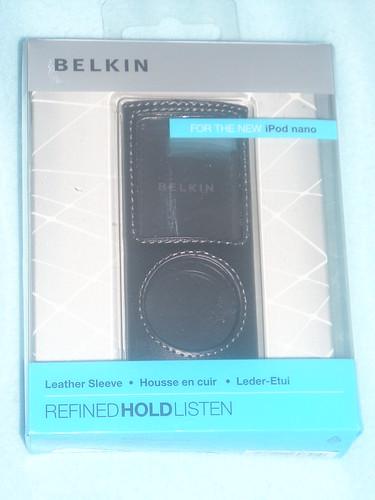 Funda de piel Belkin iPod Nano 4G