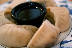 Steamed dumplings Chinese food 3-25-09 5