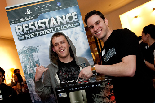 PS3 Winner & Jeff - PlayStation.Blog Meet-Up