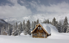 Home, Sweet Home (AGrinberg) Tags: mountain snow ski mountains danger cabin colorado silverton powder explore sanjuan backcountry telemark frontpage avalanche vosplusbellesphotos visionqualitygroup 12748scabin 1sttohit100favs33109