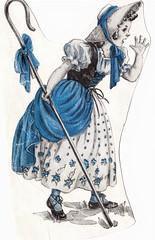 Little BoPeep (estelle & ivy) Tags: vintage illustrations 1940s achildslife