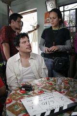 """Enrica Pérez y Bruno Odar en """"Taxista"""""""