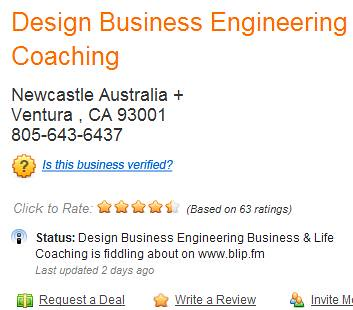 Design Business Status