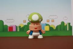 1UP FatCap (WuzOne) Tags: mushroom kidrobot custom uglydoll 1up kaiju dunny fatcap munny artoys wuzone