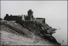 Fort la Latte en 1976 (jeanpierre) Tags: mer la photo fort bretagne latte ancienne frehel