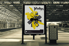 Prodigy poster (til01) Tags: uk black june yellow festival poster grey design graphicdesign ant creative 01 download prodigy ideas til doningtonpark til01 loveposter stavrosgeorgakopoulos