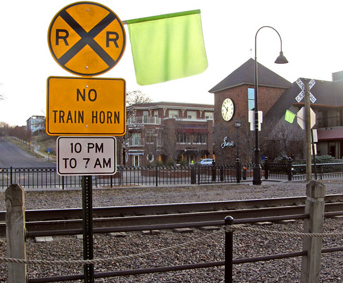 No train horns