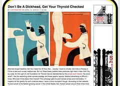 Don't Be A Dickhead, Get Your Thyroid Checked - ANIMAL_1239959286157