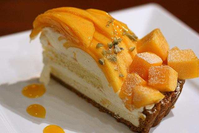 Mango Fruit Tart