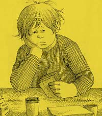 Top 100 Picture Books #8: Alexander and the Terrible, Horrible, No Good, Very Bad Day by Judith Viorst, illustrated by Ray Cruz
